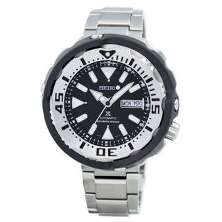 Seiko SRPA79 Prospex Men's Black Dial Watch