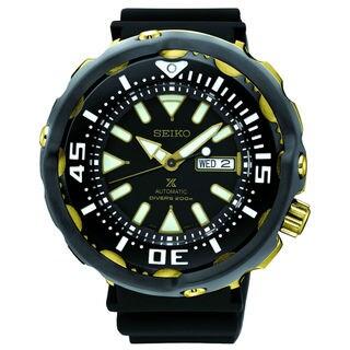 Seiko SRPA82 Prospex Men's Black Dial Watch