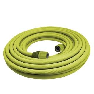 Sun Joe AJSLH100-SJG Superlight Kink-Free, Twist-Free Garden Hose w/Quick Connectors