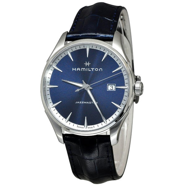 Hamilton H32451641 Jazzmaster Men's Blue Dial Watch