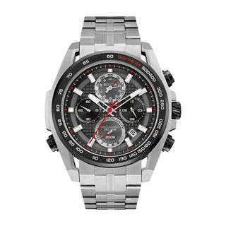 Bulova Men's 98B270 Precisionist Stainless Chronograph Bracelet Watch|https://ak1.ostkcdn.com/images/products/18259402/P24396061.jpg?impolicy=medium