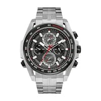 Bulova Men's   Precisionist Stainless Chronograph Bracelet Watch