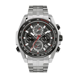 Bulova Men's 98B270 Precisionist Stainless Chronograph Bracelet Watch