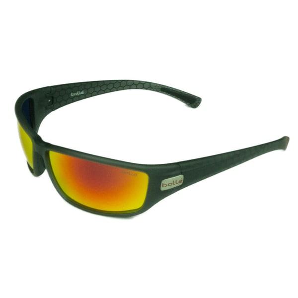 5c5b438c13 Bolle Sport Mens Python 12125 Matte Smoke Red w  TNS Fire Lens Sunglasses
