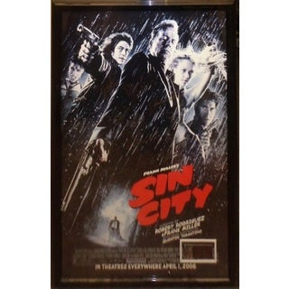 Sin City - Cast Signed Movie Poster
