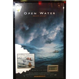 Open Water - Signed Movie Poster