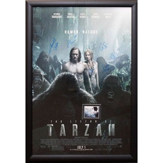 Legend of Tarzan - Signed Movie Poster