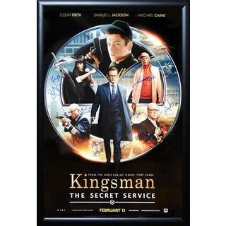 Kingsman The Secret Service - Signed Movie Poster