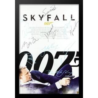 James Bond: Skyfall - Signed Movie Poster