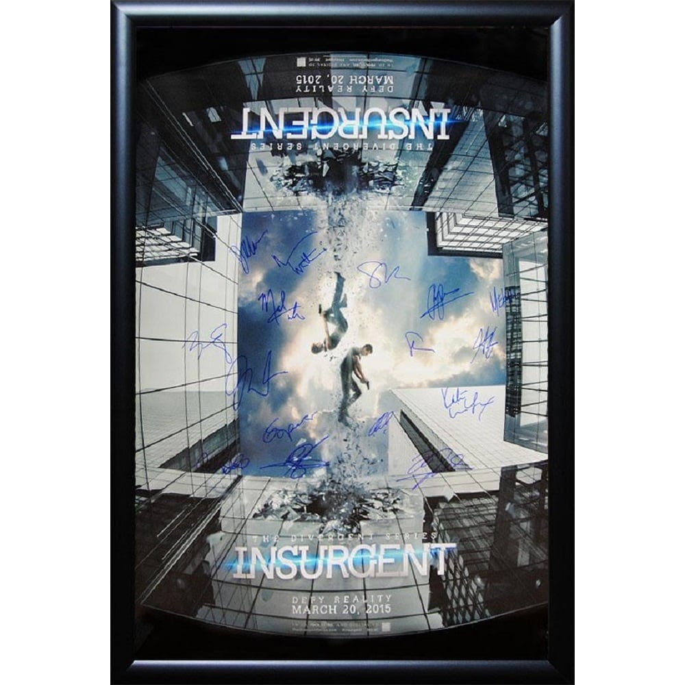 Luxe Insurgent - Signed Movie Poster (Black), Multi (Acry...