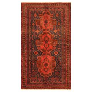 Handmade Balouchi Wool Rug (Afghanistan) - 3'8 x 6'3