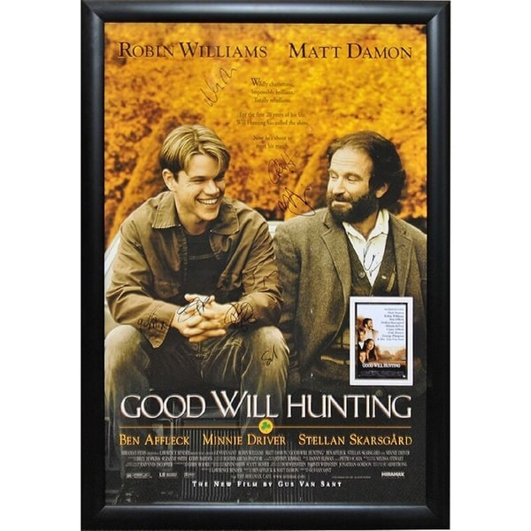 Good Will Hunting Signed Movie Poster