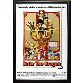 Enter the Dragon - Signed Movie Poster|https://ak1.ostkcdn.com/images/products/18259611/P24396192.jpg?impolicy=medium