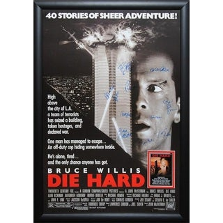 Die Hard - Signed Movie Poster