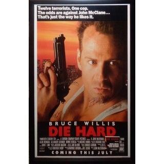 Die Hard - Signed Movie Poster