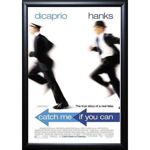 Shop Catch Me If You Can Signed Movie Poster Overstock 18259645
