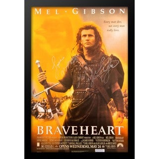 Braveheart Signed Movie Poster