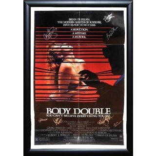 Body Double -  Signed Movie Poster