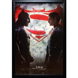 Batman vs Superman -  Signed Movie Poster