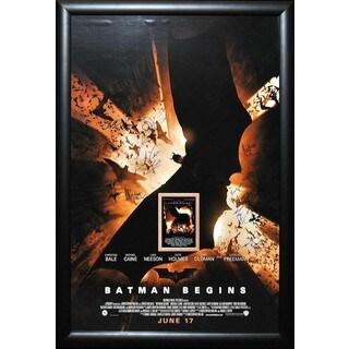 Batman Begins - Signed Movie Poster