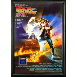 Back to the Future - Signed Movie Poster