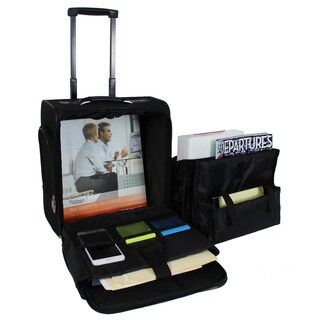 World Traveler Compact Under-Seat Rolling Carry-On