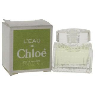 Chloe L'Eau de Chloe Women's 0.17-ounce Eau de Toilette Splash (Mini)