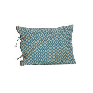 Cotton Tale Gypsy Blue Floral Pillow Case w/ties