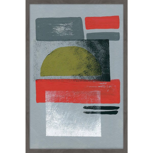 Marmont Hill - Handmade Geometric Combination Framed Print. Opens flyout.