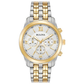 Bulova Men's 98A169 Two-Tone Stainless Chronograph Bracelet Watch