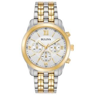 Bulova Men's 98A169 Two-Tone Stainless Chronograph Bracelet Watch