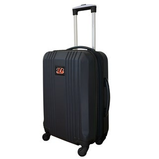 NFL Cincinnati Bengals  Luggage Carry-on 21in Hardcase two-tone Spinner 100% ABS in Black