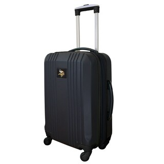 NFL Minnesota Vikings  Luggage Carry-on 21in Hardcase two-tone Spinner 100% ABS in Black
