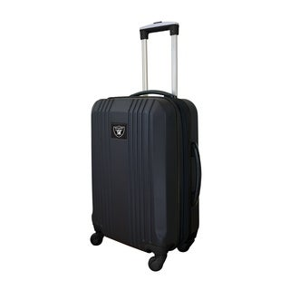 NFL Oakland Raiders  Luggage Carry-on 21in Hardcase two-tone Spinner 100% ABS in Black
