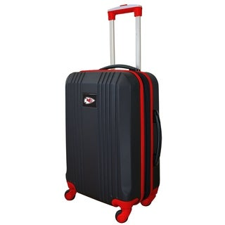 NFL Kansas City Chiefs Luggage Carry-on 21in Hardcase two-tone Spinner 100% ABS in Red