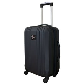 NFL Atlanta Falcons  Luggage Carry-on 21in Hardcase two-tone Spinner 100% ABS in Black