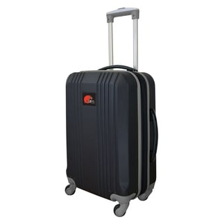 NFL Cleveland Browns  Luggage Carry-on 21in Hardcase two-tone Spinner 100% ABS in Gray