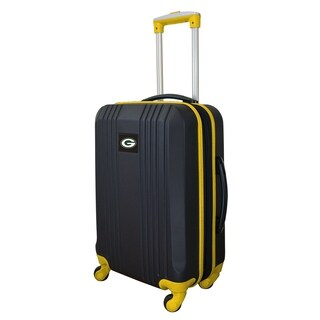 NFL Green Bay Packers Luggage Carry-on 21in Hardcase two-tone Spinner 100% ABS in Yellow
