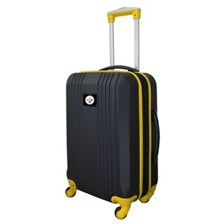 NFL Pittsburgh Steelers Luggage Carry-on 21in Hardcase two-tone Spinner 100% ABS in Yellow