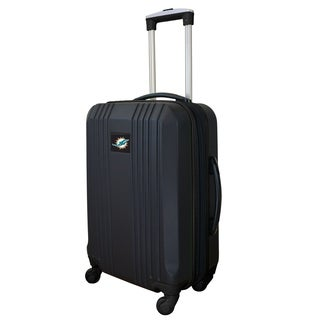 NFL Miami Dolphins  Luggage Carry-on 21in Hardcase two-tone Spinner 100% ABS in Black