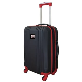 NFL New York Giants  Luggage Carry-on 21in Hardcase two-tone Spinner 100% ABS in Red