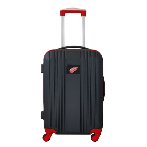 san francisco c5dc6 8df93 NHL Detroit Red Wings Luggage Carry-on 21in Hardcase two-tone Spinner 100%  ABS in Red