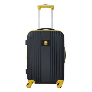 NBA Golden State Warriors Luggage Carry-on 21in Hardcase two-tone Spinner 100% ABS in Yellow