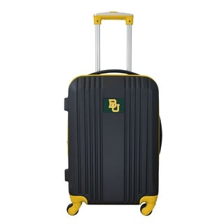 NCAA Baylor Luggage Carry-on 21in Hardcase two-tone Spinner 100% ABS in Yellow