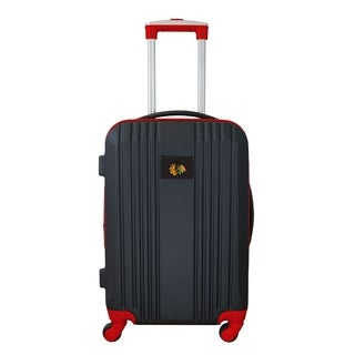 NHL Chicago Blackhawks  Luggage Carry-on 21in Hardcase two-tone Spinner 100% ABS in Red