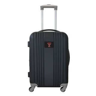 NCAA Texas Tech Luggage Carry-on 21in Hardcase two-tone Spinner 100% ABS in Gray