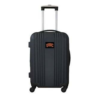 NCAA Southern Cal Trojans Luggage Carry-on 21in Hardcase two-tone Spinner ABS