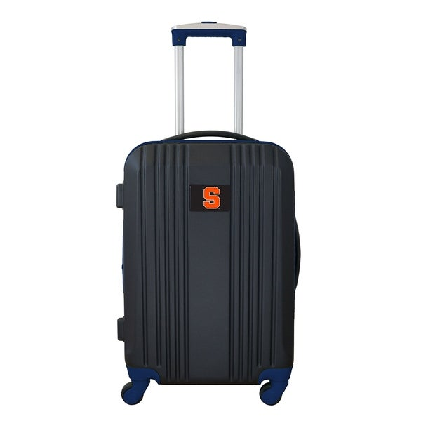 NCAA Syracuse Luggage Carry-on 21in Hardcase two-tone Spinner 100% ABS in Navy