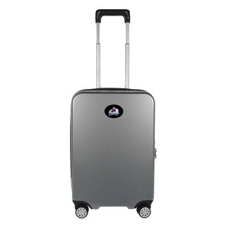 NHL Colorado Avalanche Luggage Carry-on 22in Hardcase spinner 100% PC in Gray