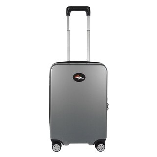 NFL Denver Broncos Luggage Carry-on 22in Hardcase spinner 100% PC in Gray